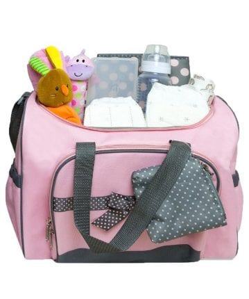 checklist for a diaper baby bag